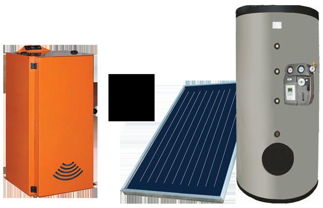 Caldaia a Pellet + Solare termico  fontirinnovabili.com